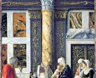 The Circumcision of Christ — Андреа Мантенья
