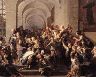 The cloister soup — Фердинанд Георг Вальдмюллер