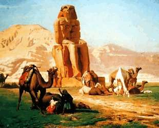 The Colossus of Memnon — Жан-Леон Жером
