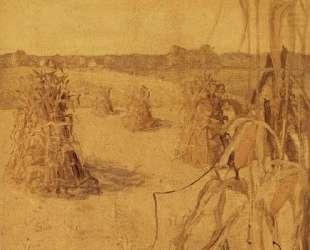 The Corn field — Грант Вуд