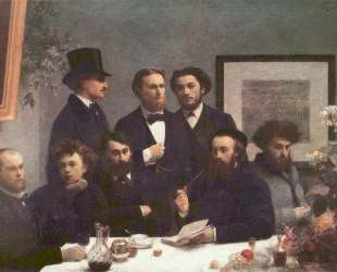 The Corner of the Table — Анри Фантен-Латур