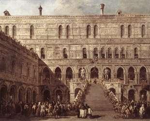 The Coronation of the Doge — Франческо Гварди