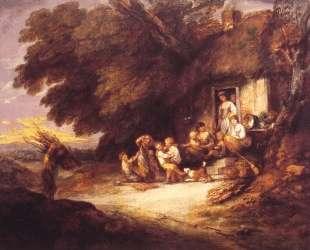The Cottage Door — Томас Гейнсборо