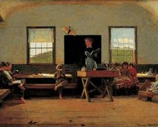 The Country School — Уинслоу Хомер