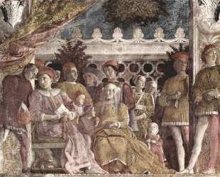 The court of the Gonzaga — Андреа Мантенья