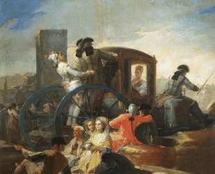 The Crockery Vendor — Франсиско де Гойя