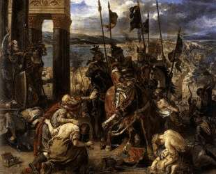 Взятие крестоносцами Константинополя — Эжен Делакруа