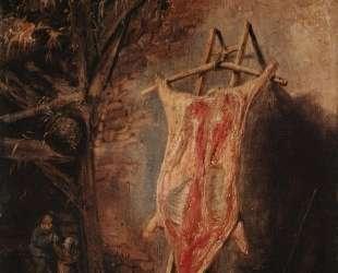 The Cut Pig — Исаак ван Остаде