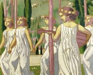 The Dancers (also known as Eternal Summer, Wiesbaden) — Морис Дени