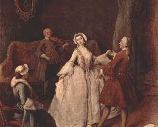 Урок танцев — Пьетро Лонги