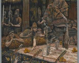 The Daughter of Herodias Dancing — Джеймс Тиссо