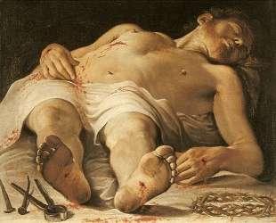 The Dead Christ — Аннибале Карраччи