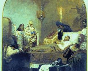 The death of Alexander Nevsky — Генрих Семирадский