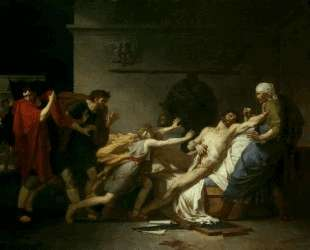 The Death of Cato of Utica — Пьер-Нарцисс Герен