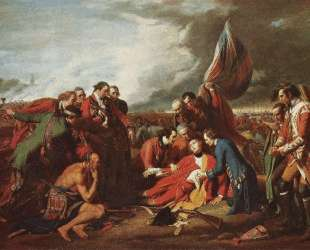 The Death of General Wolfe — Бенджамин Уэст
