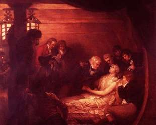 The Death Of Nelson — Бенджамин Уэст