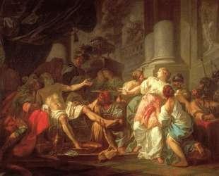 Смерть Сенеки — Жак Луи Давид