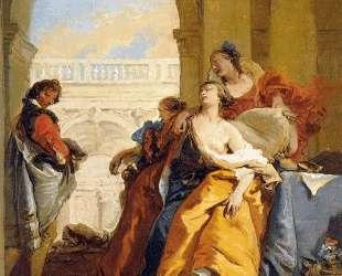 The Death of Sophonisba — Джованни Баттиста Тьеполо