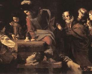 The Denial of St. Peter — Николя Турнье