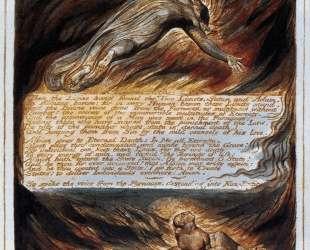 Сошествие Христа — Уильям Блейк