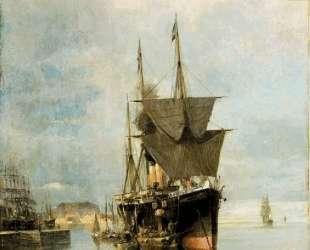 The disembarkation — Константинос Воланакис