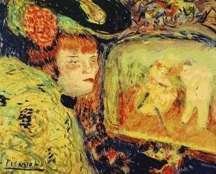 The 'Divan Japonais' — Пабло Пикассо