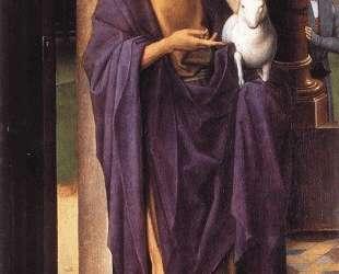 Триптих Донна (левое крыло) — Ганс Мемлинг
