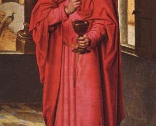 Триптих Донна (правое крыло) — Ганс Мемлинг