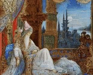 The Dream Haunting the Mogul — Гюстав Моро