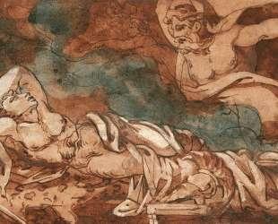 The Dream of Aeneas — Теодор Жерико