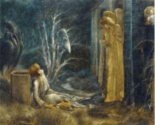 Сон Ланселота (Этюд) — Эдвард Бёрн-Джонс
