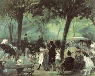 The Drive, Central Park — Уильям Джеймс Глакенс