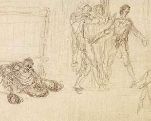 Опьянение Ноя — Жан-Франсуа Милле