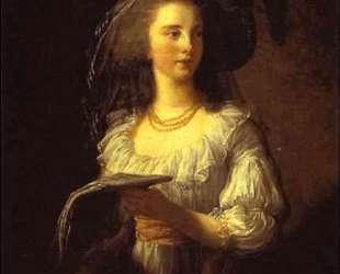 The Duchess de Polignac — Элизабет Луиза Виже-Лебрен