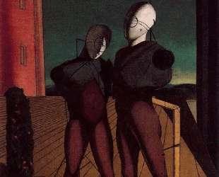 Дуэт (Модели красной башни) — Джорджо де Кирико