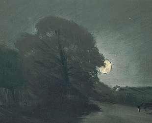 Вересковая пустошь в лунном свете — Джон Констебл