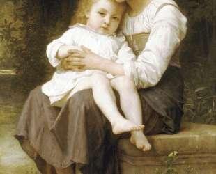 The elder sister — Вильям Адольф Бугро