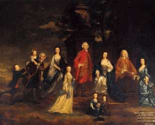 The Eliot Family — Джошуа Рейнольдс