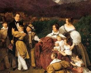 The Eltz Family — Фердинанд Георг Вальдмюллер