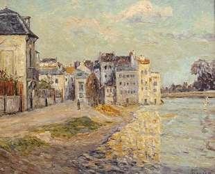 The Embankment of Lagny under Flood Water — Максим Мофра