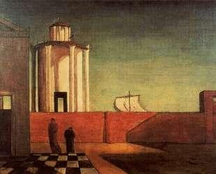 Загадка прибытия и дня — Джорджо де Кирико