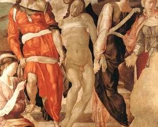 The Entombment — Микеланджело