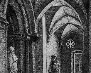 Портик синагоги в Регенсбурге — Альбрехт Альтдорфер