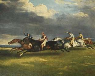 The Epsom Derby — Теодор Жерико