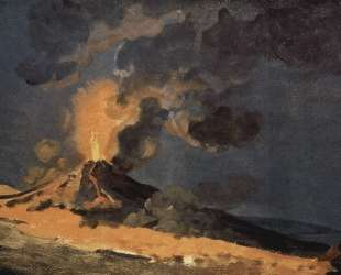 The Eruption of Vesuvius — Джозеф Райт