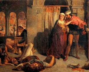 The Eve of St. Agnes — Уильям Холман Хант
