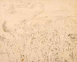 Исход из Египта — Марк Шагал