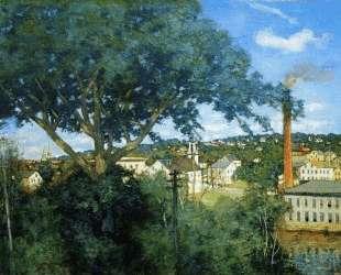 The Factory Village — Джулиан Олден Вейр
