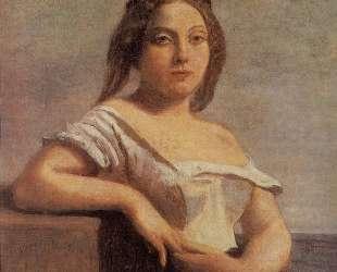 Гасконская девушка (Светловолосая гасконка) — Камиль Коро
