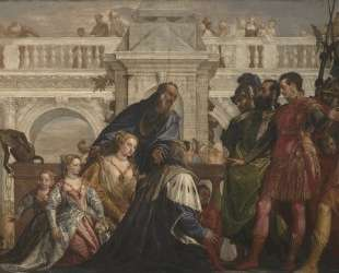 The Family of Darius before Alexander — Паоло Веронезе